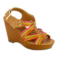 SM New York Women's Wedge Sandal Divine - Multi at Sears.com