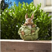 Decorative Bunny in Vegetable Statue - Cabbage at Kmart.com