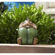 Decorative Bunny in Vegetable Statue - Green Pepper at Kmart.com