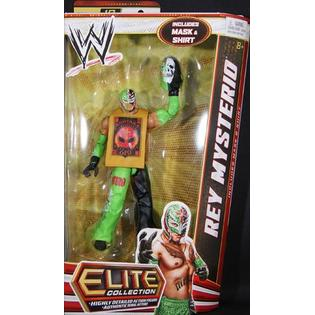 WWE Rey Mysterio - WWE Elite 18 Toy Wrestling Action Figure