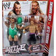 WWE Brodus Clay & Curt Hawkins - WWE Battle Packs 20 Toy Wrestling Action Figures at Sears.com