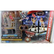 WWE Ringside Battle Playset w/ John Cena & Alberto Del Rio - WWE Toy Wrestling Action Figures & Ring at Kmart.com