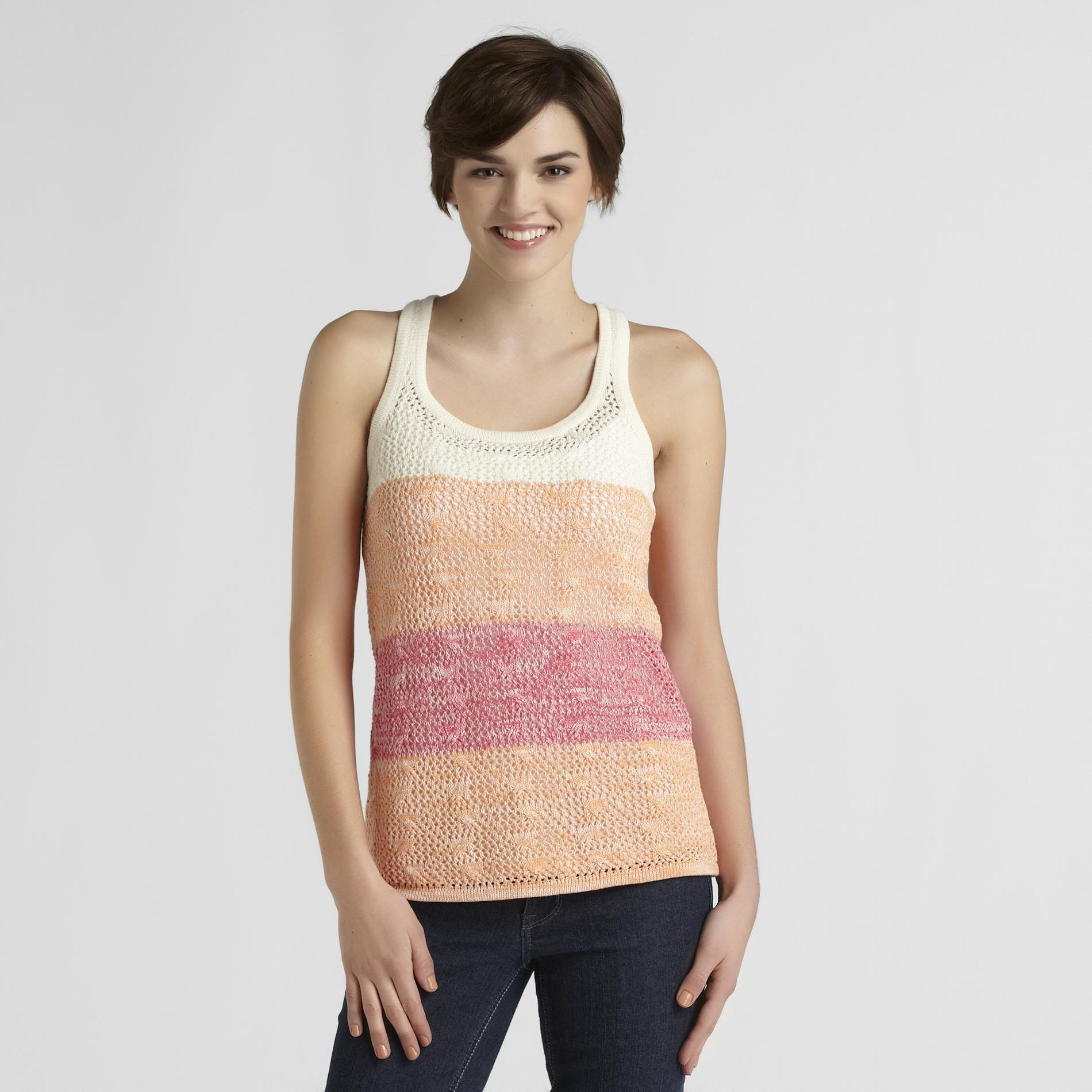Route 66 Women's Pointelle Sweater Tank Top at Kmart.com