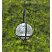 Garden Oasis 6in LED Lighted Hanging Gazing Ball -Clear at Kmart.com
