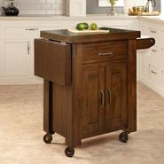 Home Styles Cabin Creek Kitchen Cart w/ side drop leaf at Kmart.com