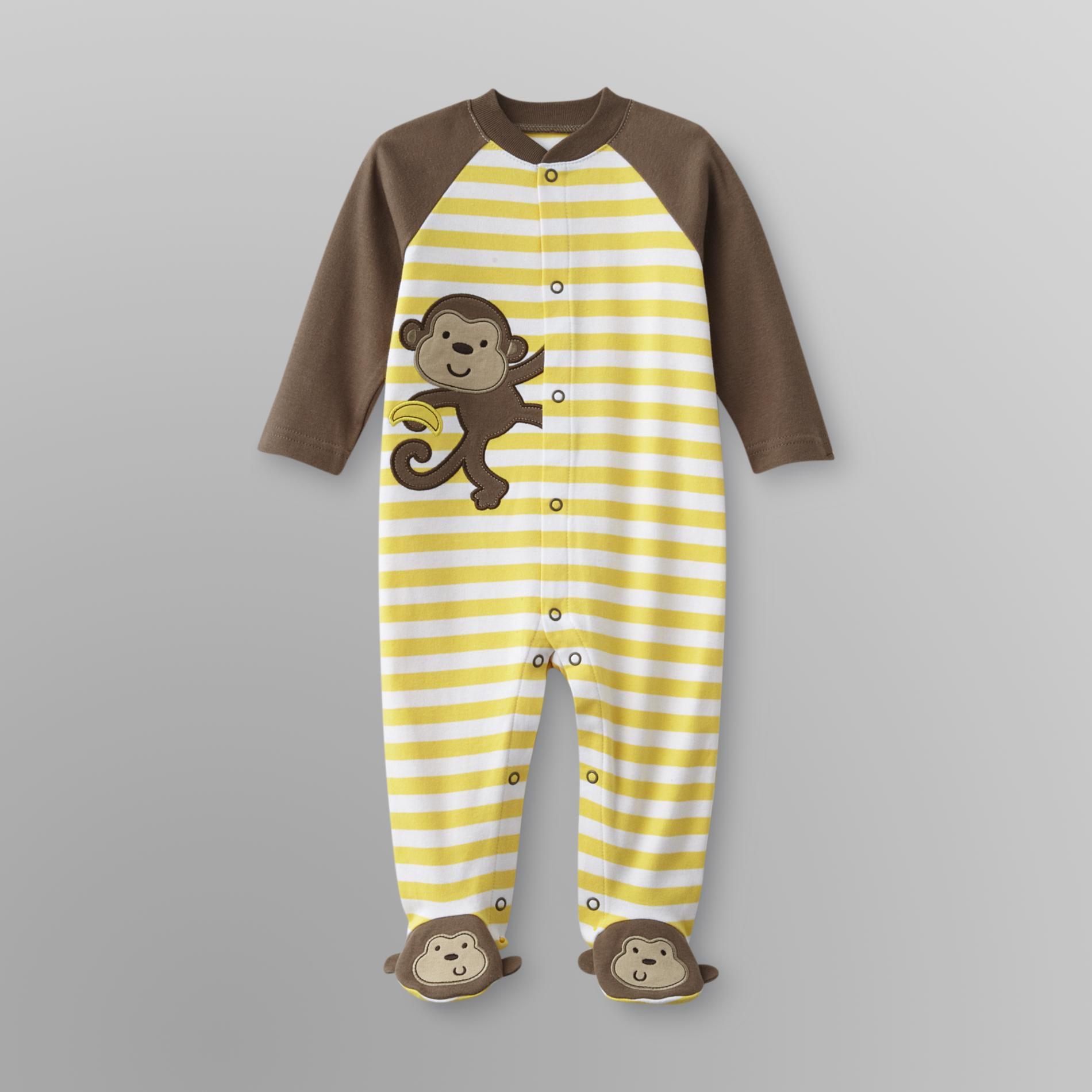 Little Wonders Newborn & Infant Boy's Sleeper Pajamas