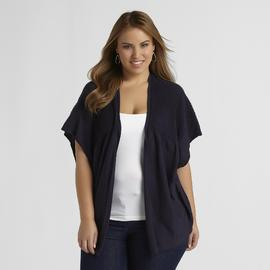 Love Your Style, Love Your Size Women's Plus Rib-Knit Cardigan at Kmart.com
