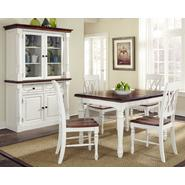 Home Styles Monarch Rectangular Dining Table and Four Double X-back Chairs at Kmart.com