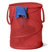 Honey-can-do Large Mesh Pop Open Hamper, red at Sears.com
