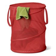 Honey-can-do Medium Mesh Pop Open Hamper, red at Sears.com