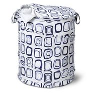 Honey-can-do Large Patterned Pop Open Hamper, blue squares at Sears.com