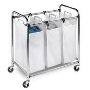 Honey Can Do Heavy-duty 3 section sorter, chrome at Sears.com