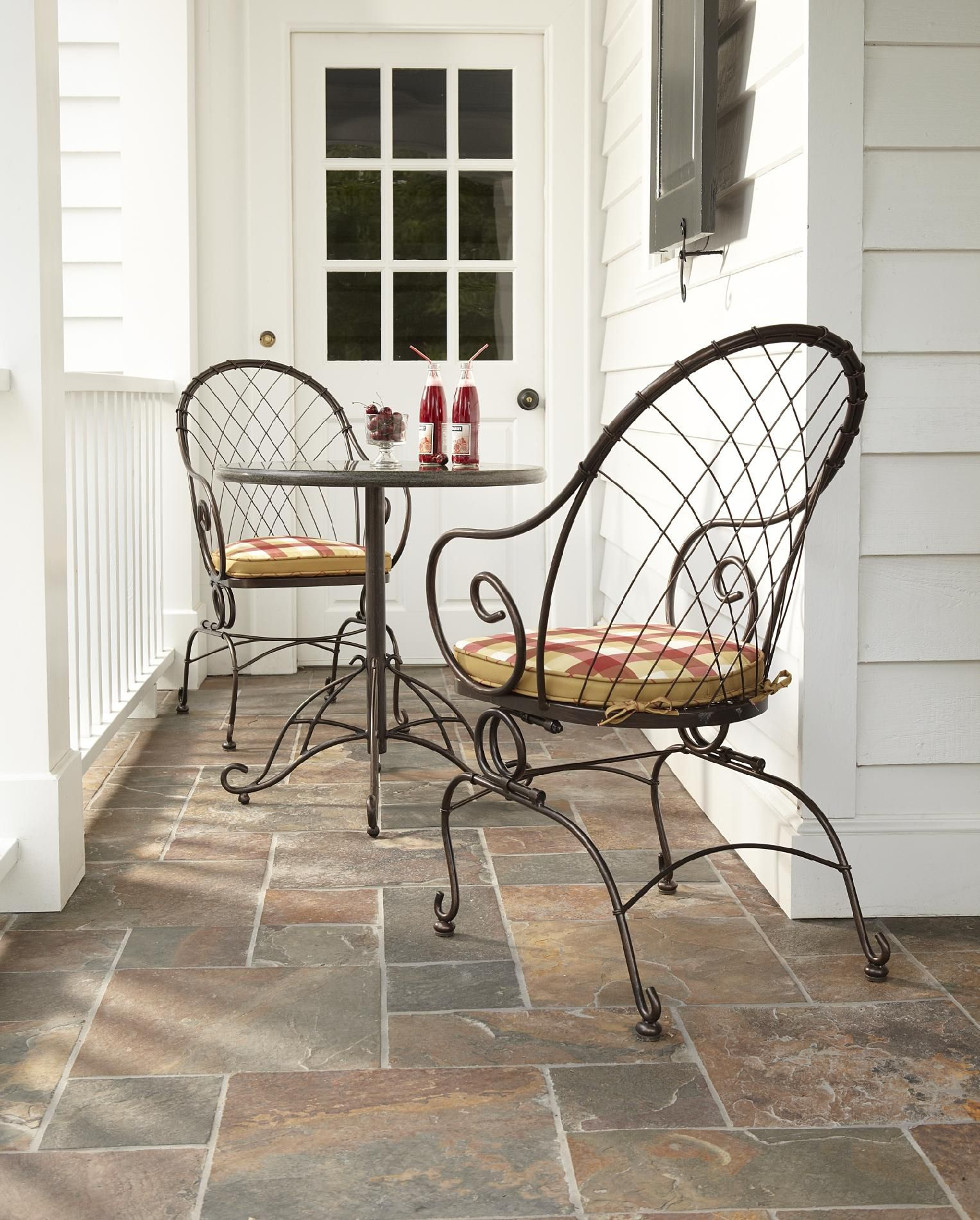 Country Living Cherry Valley Bistro Motion Chairs - 2pk