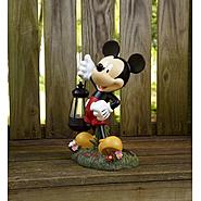 Disney 12in Mickey with Solar Lantern at Kmart.com