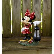 Disney 15in Minnie with Solar Lantern at Kmart.com