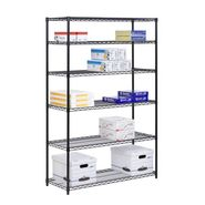 Honey Can Do 6 Tier Black Steel Shelving- 600lb at Kmart.com