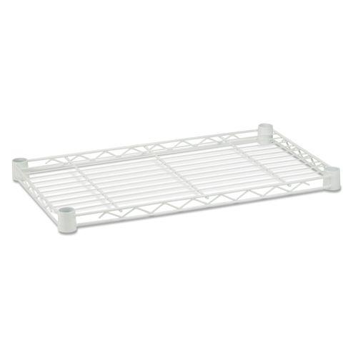 Steel Shelf-350lb white 16x36