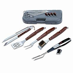 Kenmore Barbecue Set with Digital Fork Thermometer, 17 Piece