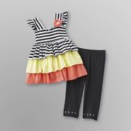 WonderKids Infant & Toddler Girl's Dress & Leggings - Striped at Kmart.com