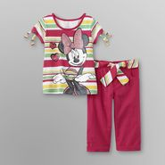 Disney Minnie Mouse Toddler Girl's Graphic T-Shirt & Shorts at Sears.com