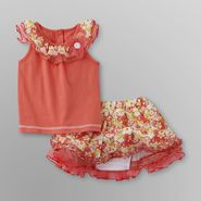 WonderKids Infant & Toddler Girl's Top & Skirt - Floral at Kmart.com