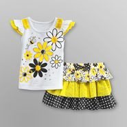 Toughskins Infant & Toddler Girl's Top & Skort - Flowers at Sears.com