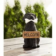 Poly Puppy with Welcome Sign - Black Lab at Sears.com