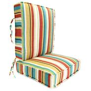 Jordan Manufacturing Co., Inc. Wyken Stripe Scarlet Deep Seating Boxed Style Cushion at Kmart.com