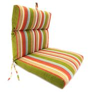 Jordan Manufacturing Co., Inc. Mila Stripe Sesame French Edge Chair Cushion at Kmart.com