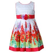 Youngland Toddler Girls' Dress Printed Floral Pleated Bodice Coral at Sears.com