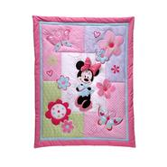 Disney Baby Minnie Mouse 4PC Crib Set (No Bumper) at Kmart.com