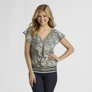 Attention Women's Cascading Top at Kmart.com