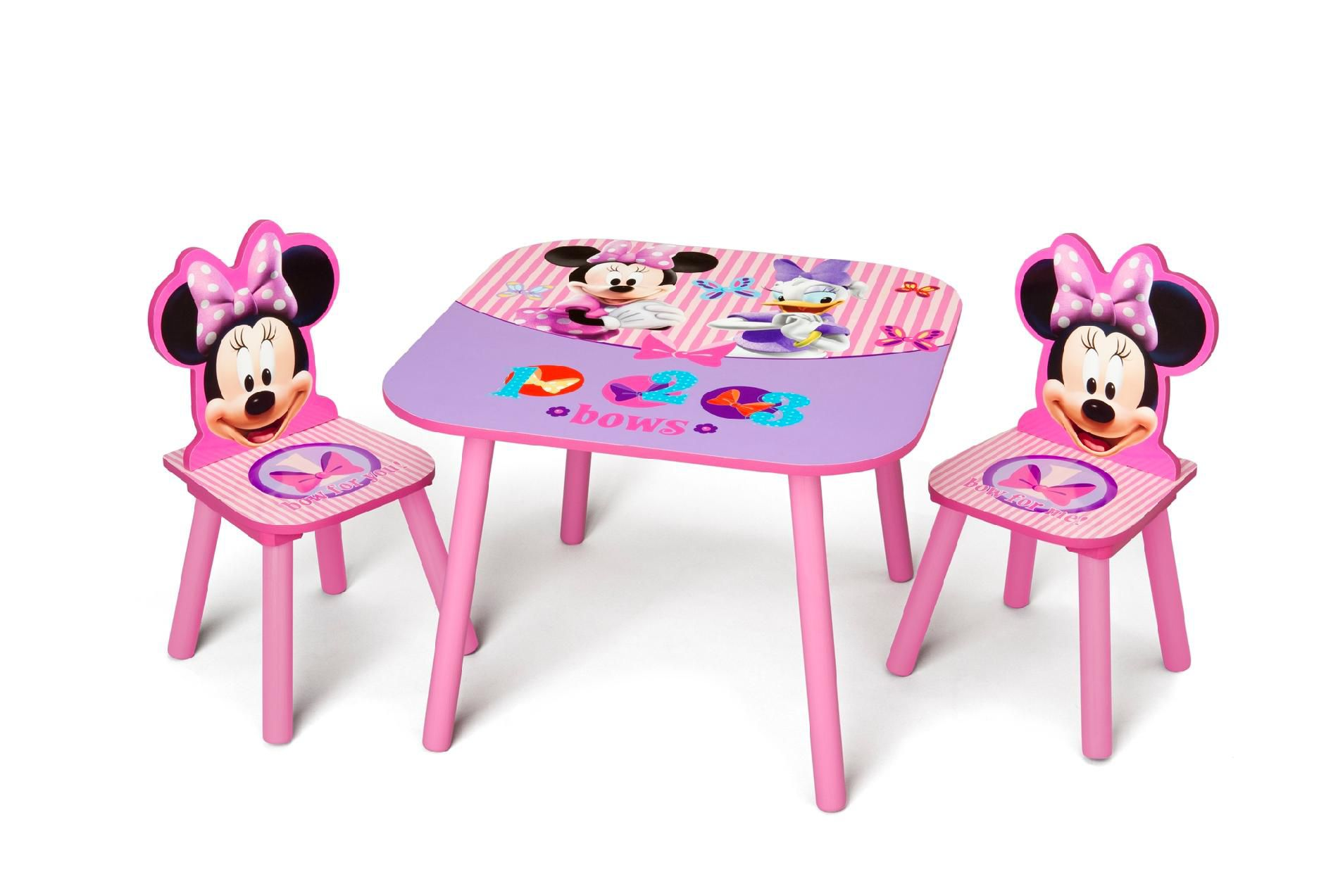 Delta  Minnie Mouse Table and Chair