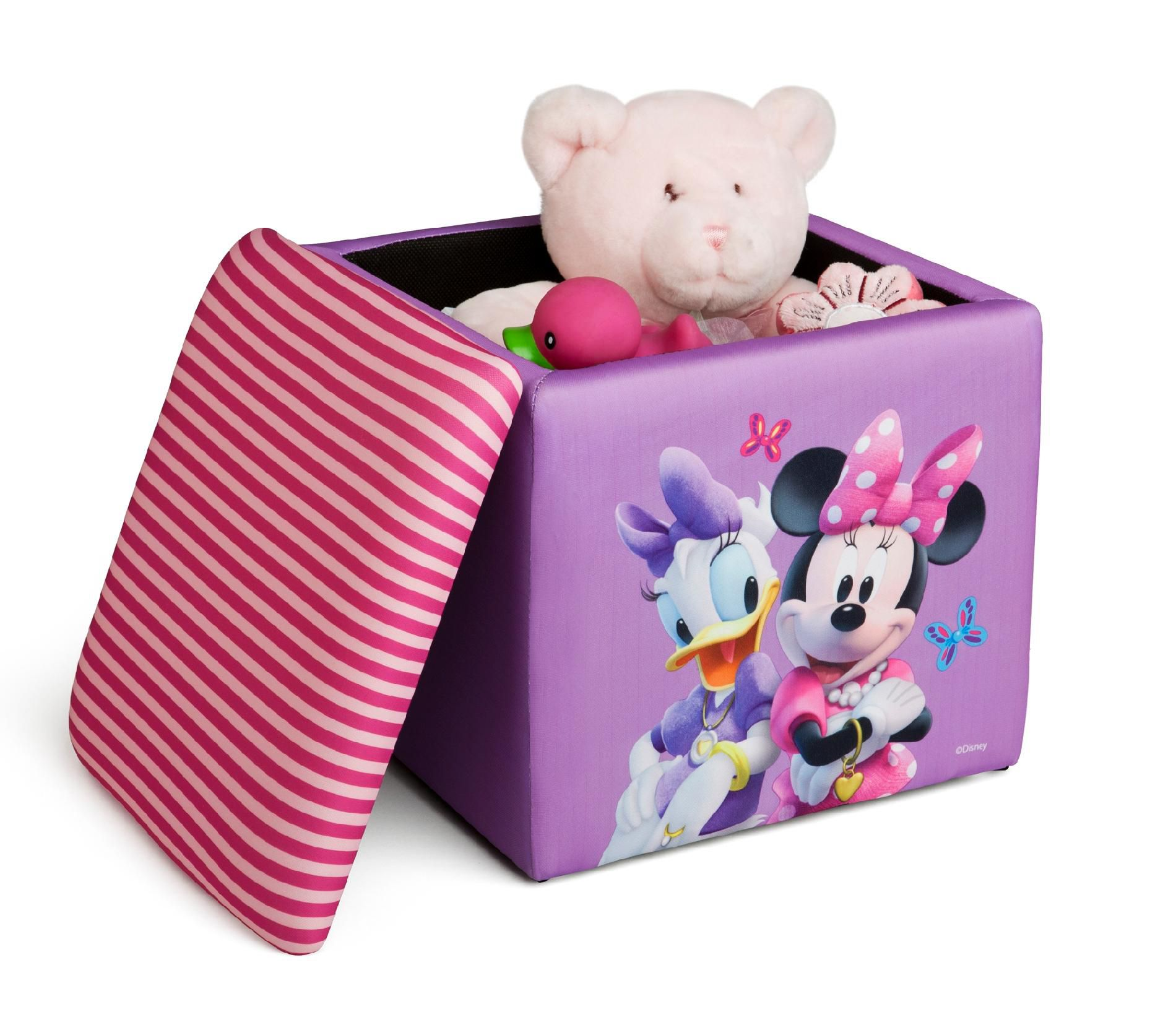 Delta Minnie Mouse Storage Ottoman