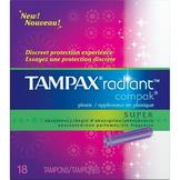 Tampax Radiant Compak Super Tampons at mygofer.com