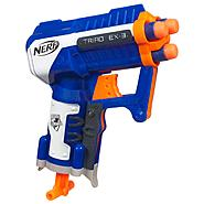HASBRO NERF N-STRIKE Elite TRIAD EX-3 Blaster at Kmart.com
