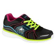 Athletech Women's Ath L-Willow 2 Athletic Shoe - Black/Multi - Every Day Great Price at Kmart.com