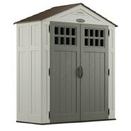 Craftsman 6' x 3' Resin Storage Building, 92 cu. ft. Shed at Craftsman.com