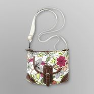 Jaclyn Smith Women's Nicki Slim Crossbody Bag - Floral at Kmart.com