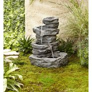 Garden Oasis Rock Fountain with LED Light at Sears.com