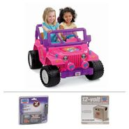 Power Wheels BARBIE Jammin Jeep Bundle at Kmart.com