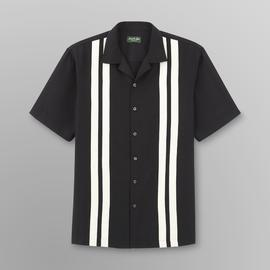 David Taylor Men's Camp Shirt - Vertical Stripe at Kmart.com