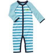 Carter's Newborn & Infants Boy's 'Alligator' Long Sleeve Striped Sleeper at Sears.com