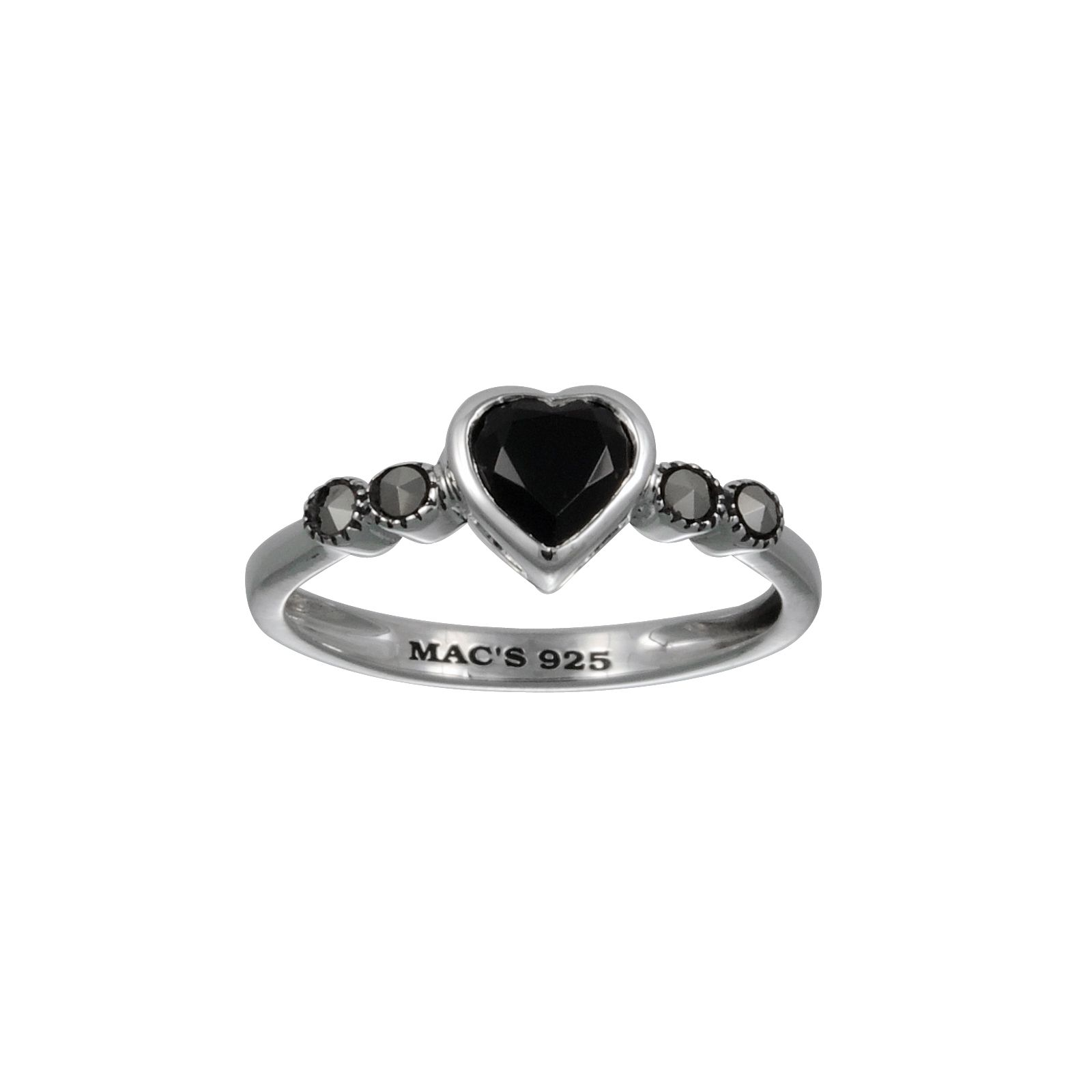 Mac's BX Heart Cut Ring