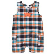 Carter's Newborn & Infants Boy's 'Crab' Plaid Overall Romper at Sears.com