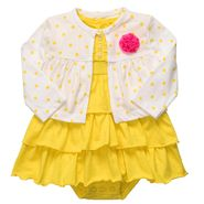 Carter's Newborn & Infants 2 Pc Dotted Floral Cardigan/Dress Set at Sears.com