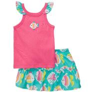 Carter's Newborn & Infant Girl's 2 Pc Sleeveless Skort Fish Set at Sears.com