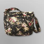Joe Boxer Women's Mint Candy Flap Handbag - Floral at Kmart.com