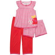 Carter's Infant & Toddler Girl's 3 Pc Ladybug Sleepwear Set at Sears.com