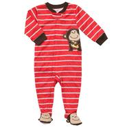 Carter's Infant and Toddler Boy's 1 Pc. Monkey Striped Pajamas at Sears.com